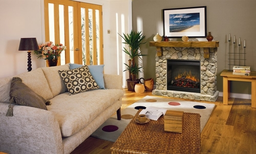 Fieldstone Electric Fireplace - Dimplex - SMP-904-ST