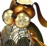 Figurine Fan - Dog - Fly - Deco Breeze - DBF0178