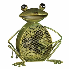 Figurine Fan - Frog- Deco Breeze - DBF0361