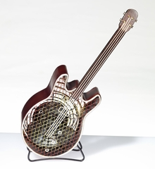 Figurine Fan - Guitar - Small - Deco Breeze - DBF0407