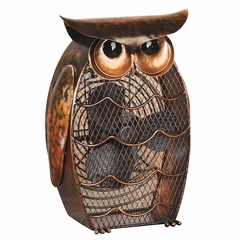 Figurine Fan - Owl- Deco Breeze - DBF0365