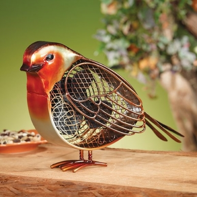 Figurine Fan - Robin - Small - Deco Breeze - DBF0226