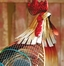 Figurine Fan - Rooster Country - Deco Breeze - DBF0406