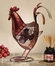 Figurine Fan - Rooster- Deco Breeze - DBF0360