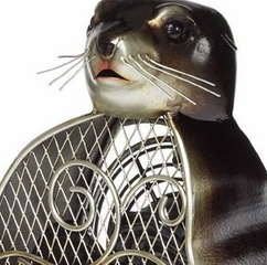 Figurine Fan - Sea Lion - Deco Breeze - DBF0211