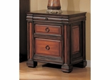 File Cabinet in Cappuccino / Dark Oak - Coaster