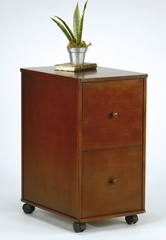 File Cabinet in Walnut - Office Star - MA405