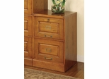 File Cabinet with Two Drawers in Oak - Coaster