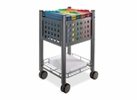 File Cart - Gray - VRTVF52002