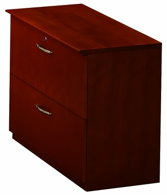 File-File Lateral File in Mahogany - Mayline Office Furniture - VLFMAH