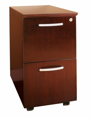 File-File Mobile Pedestals in Sierra Cherry - Mayline Office Furniture - VFFCRY