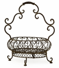 Filigree Basket - IMAX - 9749