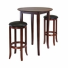Fiona Round 3Pc Pub Table Set - Winsome Trading - 94381