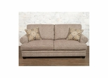 Fireside Jute Upholstered Sofa - Largo - LARGO-ST-F1227-401