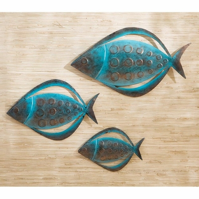 Fish Wall Art (Set of 3) - Holly and Martin