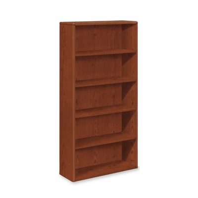 Five-Shelf Bookcase - Cherry - HON10755J