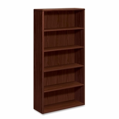 Five-Shelf Bookcase - Mahogany - HON10755N