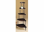 Five Tier Wall Unit in Cherry - Coaster