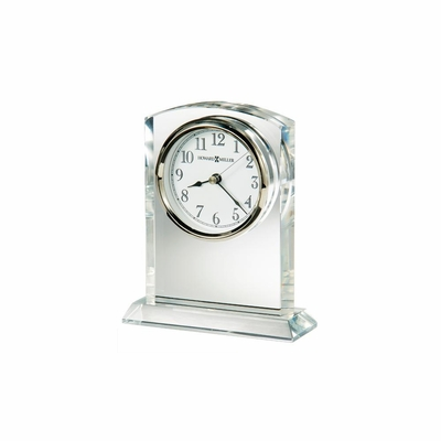 Flaire Crystal Table Clock - Howard Miller