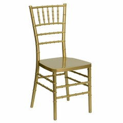 Flash Elegance Gold Resin Stacking Chiavari Chair - LE-L-7B-GLD-RESIN-GG