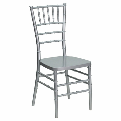 Flash Elegance Silver Resin Stacking Chiavari Chair - LE-L-7C-SLV-RESIN-GG