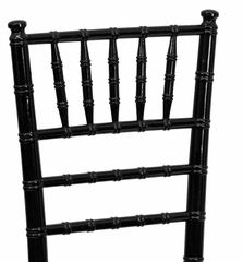 Flash Elegance Supreme Black Wood Chiavari Chair - YT-YJA07-BK-GG