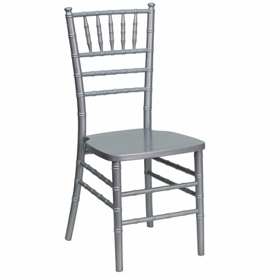Flash Elegance Supreme Silver Wood Chiavari Chair - YT-YJA02-SLV-GG