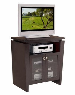 Flat Panel / Flat Screen TV Stand - 36 Inch Classic Modern TV Entertainment Highboy for Plasma/LCD Installations - FT36TL