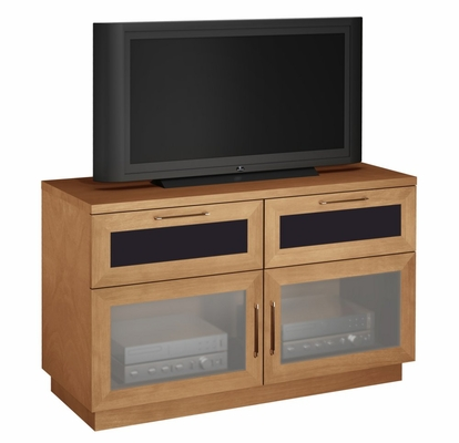 Flat Panel / Flat Screen TV Stand - 46 Inch Contemporary TV Entertainment Console for Plasma/LCD Technologies - FT46CC