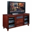 Flat Panel / Flat Screen TV Stand - 61 Inch Shaker Style TV Entertainment Console for Plasma/LCD Technology - FT61SC