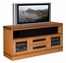Flat Panel / Flat Screen TV Stand - 62 Inch Transitional TV Entertainment Console for Plasma/LCD Installations - FT62TRY