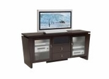Flat Panel / Flat Screen TV Stand - 70 Inch Classic Modern TV Entertainment Console for Plasma/LCD Installations - FT72TL