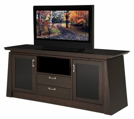 Flat Panel / Flat Screen TV Stand - 70 Inch Contemporary Asian TV Entertainment Console for Plasma/LCD Installations - ELEGANTE