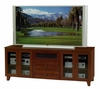 Flat Panel / Flat Screen TV Stand - 70 Inch Shaker Style TV Entertainment Console for Plasma/LCD Installations - FT72SC