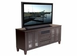 Flat Panel / Flat Screen TV Stand - 70 Inch Traditional TV Entertainment Console for Plasma/LCD Installations - FT72TC