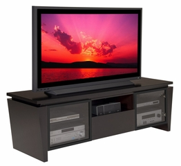 Flat Panel / Flat Screen TV Stand - 75 Inch Contemporary TV Entertainment Console for Plasma/LCD Installations - FT75TL