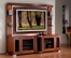 Flat Panel / Flat Screen TV Stand with Back Panel - Allegro - JSP Furniture - A-80-P