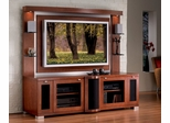 Flat Panel / Flat Screen TV Stand with Back Panel - Allegro - JSP Furniture - A-80-P-SP