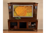Flat Panel / Flat Screen TV Stand with Back Panel - Mozart - JSP Furniture - M-10-P-SP