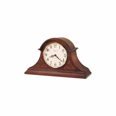Fleetwood Mantel Clock in Windsor Cherry - Howard Miller