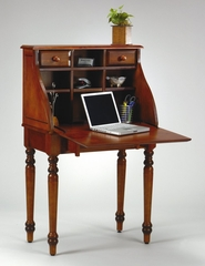 Flip Desk in Antique Cherry - Office Star - KH24