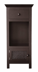 Floor Cabinet in Dark Espresso - Savannah - 7817