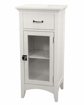 Floor Cabinet with 1 Door and 1 Drawer - Madison Avenue - 7053