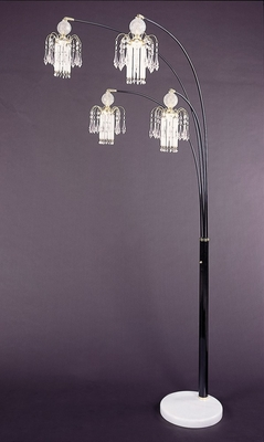 Floor Lamp in Black - Coaster - 1771N