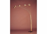 Floor Lamp in Brass - Coaster - 1245
