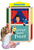 Floor Puppet Theater - Guidecraft - G51060