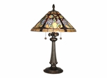 Floral Branch Tiffany Table Lamp - Dale Tiffany