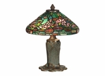 Floral Leaf Tiffany Table Lamp - Dale Tiffany