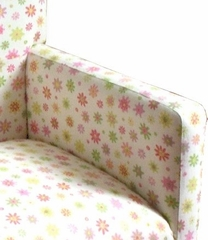 Floral Tufted Kids Chair - 4D Concepts - K3188