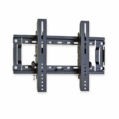 Flush Flat Panel Wall Mount - Black - BREFPLMFFP